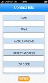 פיתוח אפליקציה contractor calc עמוד צור קשר לקבלת הצעות