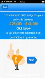פיתוח אפליקציה - עמוד הערכת מחיר